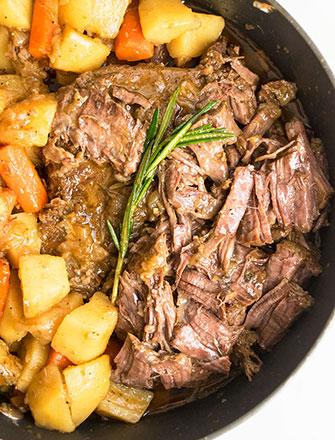 Classic Easy Pot Roast Recipe (One Pot Meal)