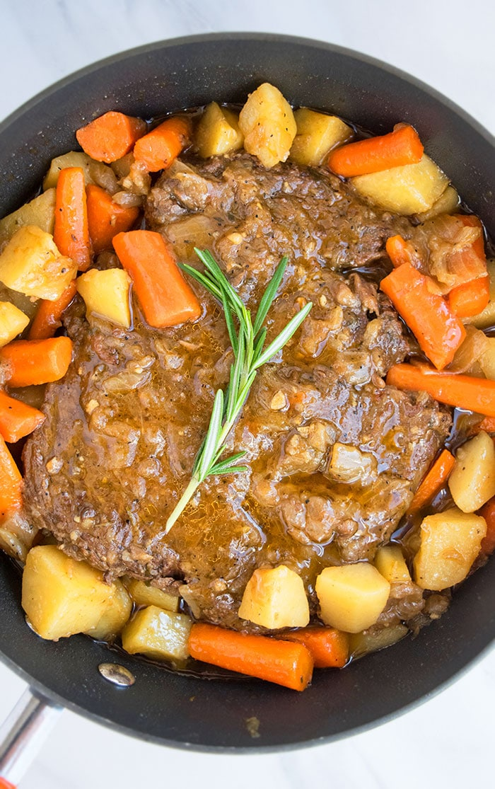 Classic Pot Roast in Oven