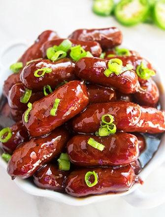 One Pot Grape Jelly Little Smokies Recipe