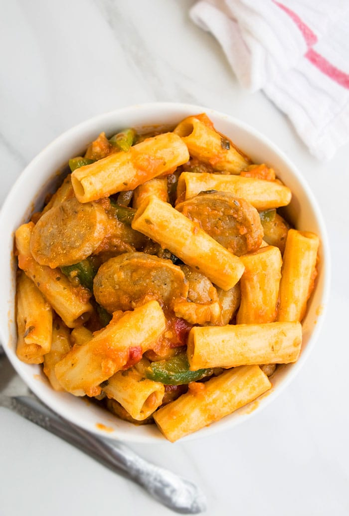 Instant Pot Sausage Pasta Recipe