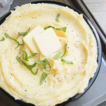 Easy Mashed Potatoes Recipe (One Pot)