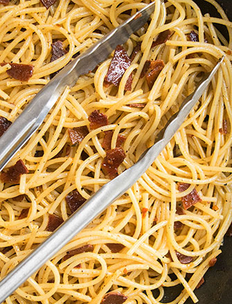 Bacon Pasta (30 Minute Weeknight Meal)