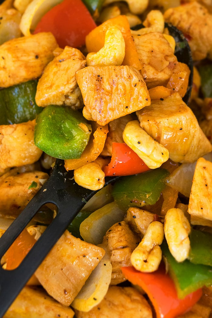 One Pot Cashew Chicken Recipe