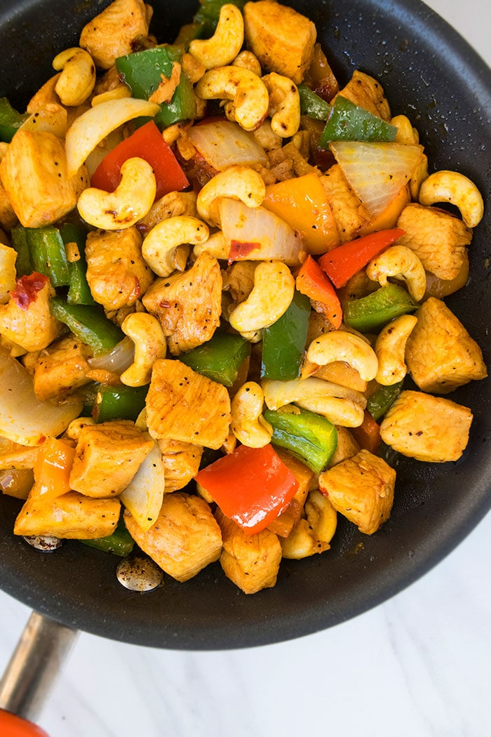 How to Make Cashew Chicken Stir Fry