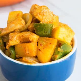 One Pot Pineapple Chicken Recipe