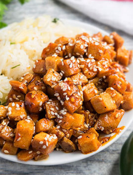 Honey Sriracha Sesame Tofu Recipe (One Pot, 30 Minutes)