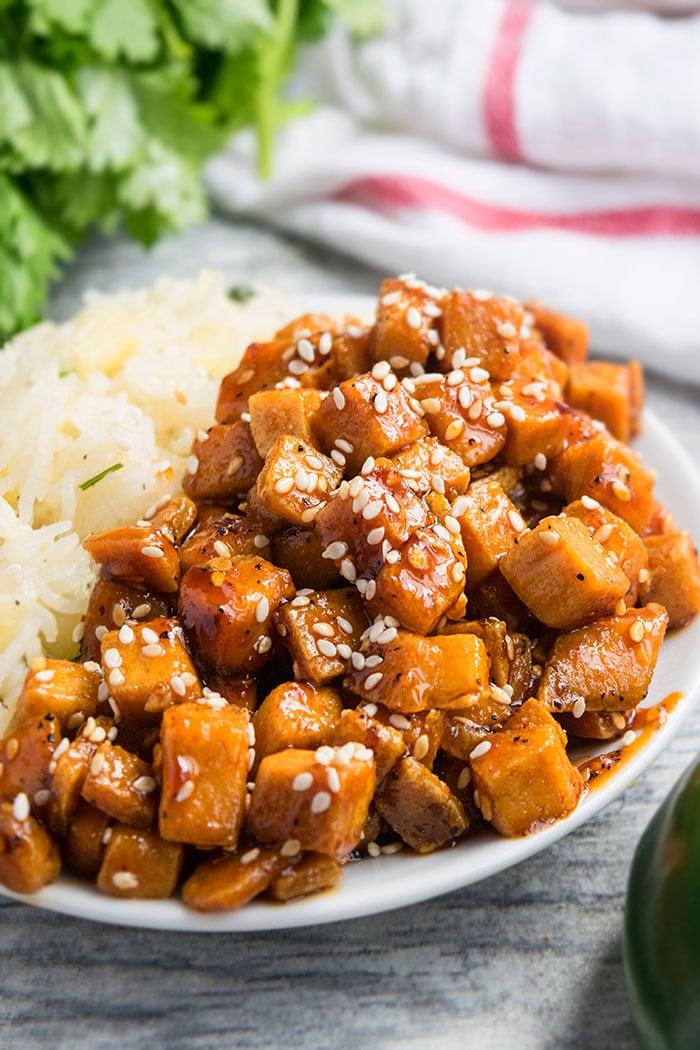 Honey Sriracha Sesame Tofu Recipe