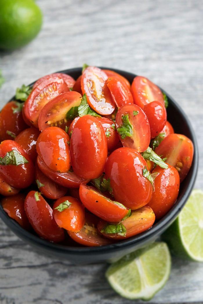 Easy Tomato Salad Recipe