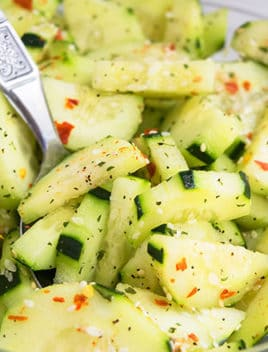 Easy Asian Cucumber Salad Recipe