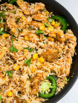 One Pot Chicken and Rice Recipe (Ready in 30 Minutes)