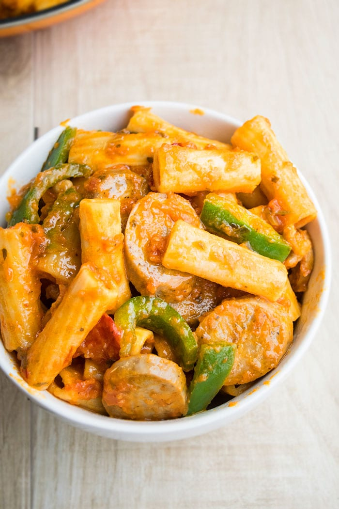 One Pot Pasta with Sausage Recipe