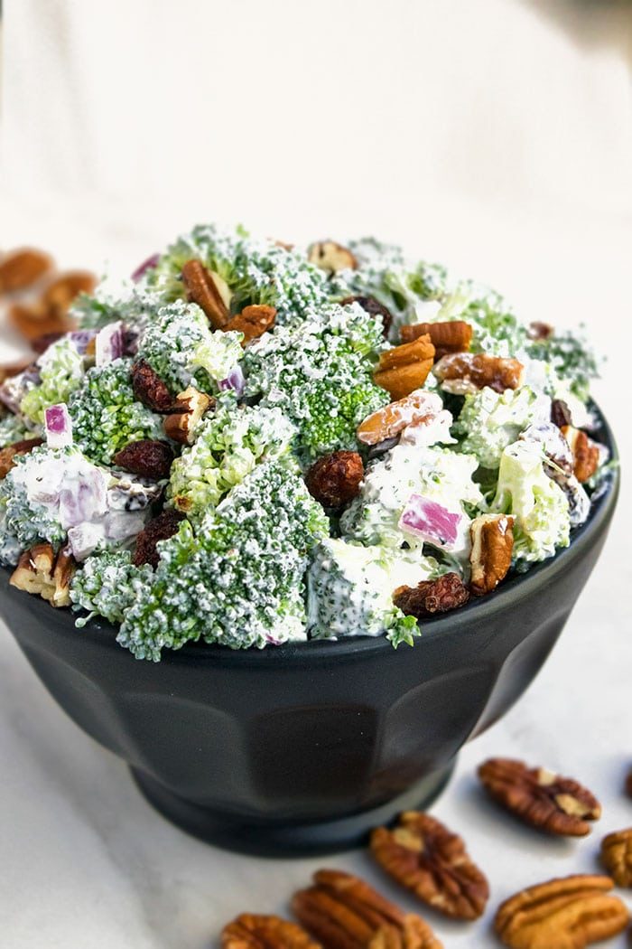 Best Broccoli Salad Recipe (One Bowl)