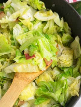 Easy Southern Fried Cabbage Recipe (One Pot)