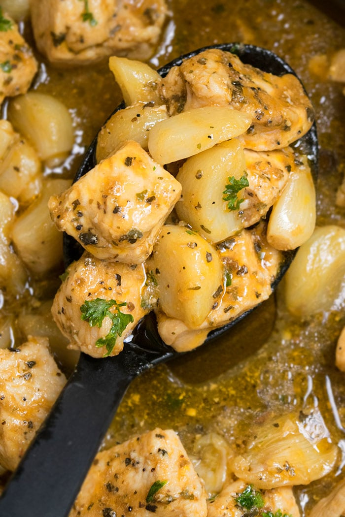 One Pot Lemon Garlic Chicken Recipe