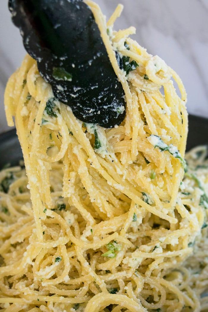 Easy Spinach Pasta Recipe