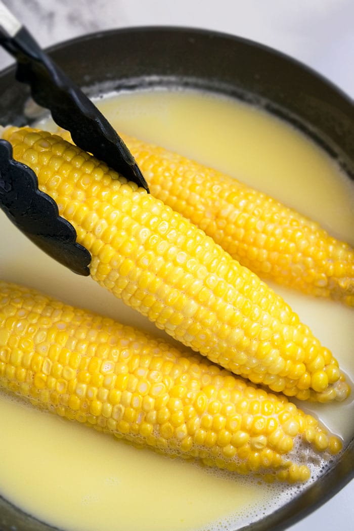 Easy Boiling Corn On The Cob Recipe (One Pot)