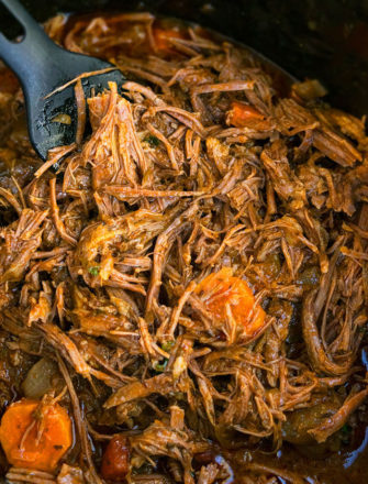 Classic Slow Cooker Pot Roast Recipe (One Pot)