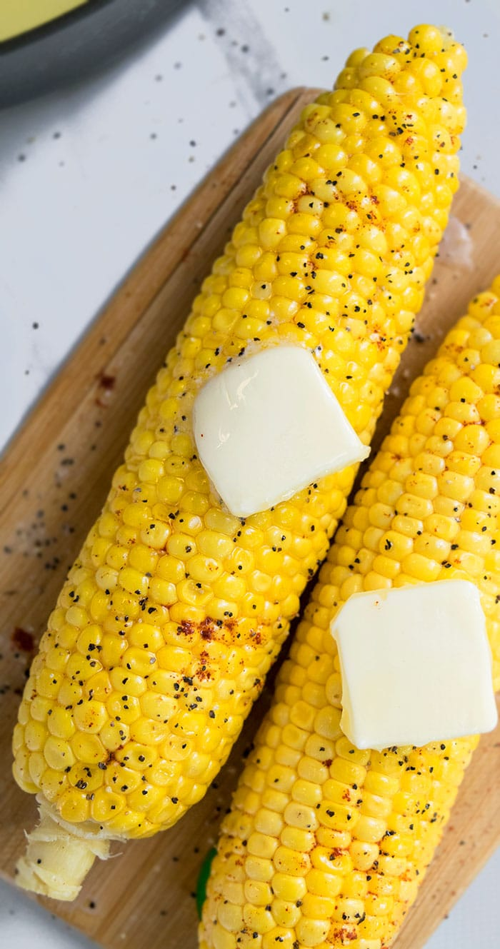 How to Boil Corn on The Cob in Milk and Butter