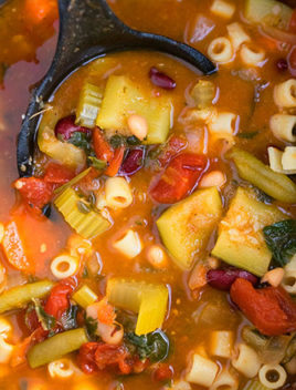 Easy One Pot Pasta Fagioli Recipe (Pasta E Fagioli)
