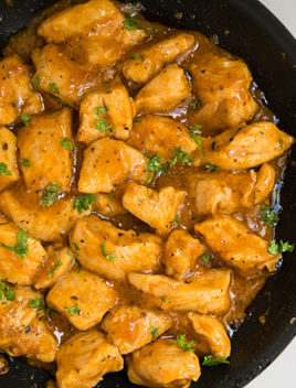 One Pot Apricot Chicken Recipe (30 Minute Meal)