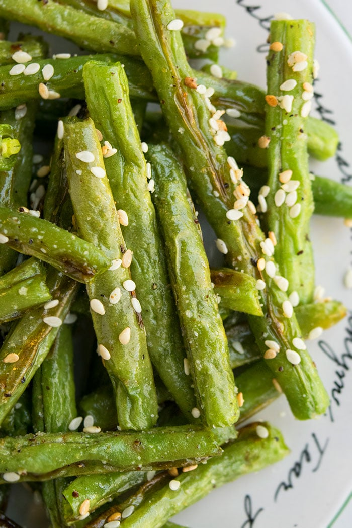 Easy Fresh Roasted Green Beans Recipe