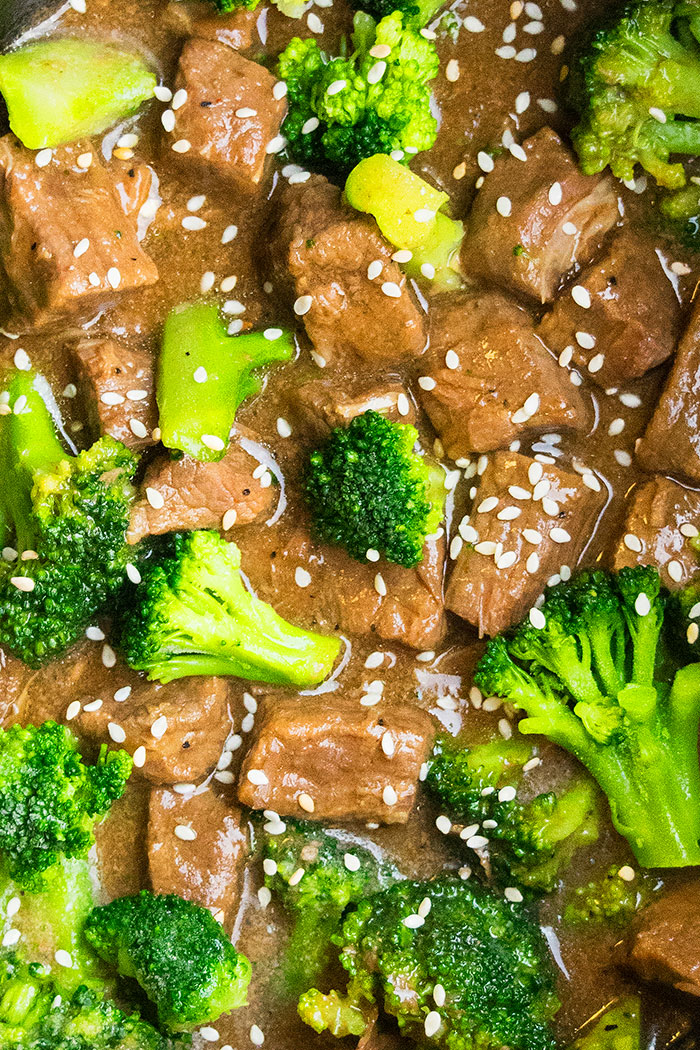 Easy Beef Broccoli Recipe (Crockpot)