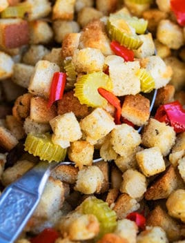 Easy Stovetop Thanksgiving Turkey Stuffing Recipe (One Pot)