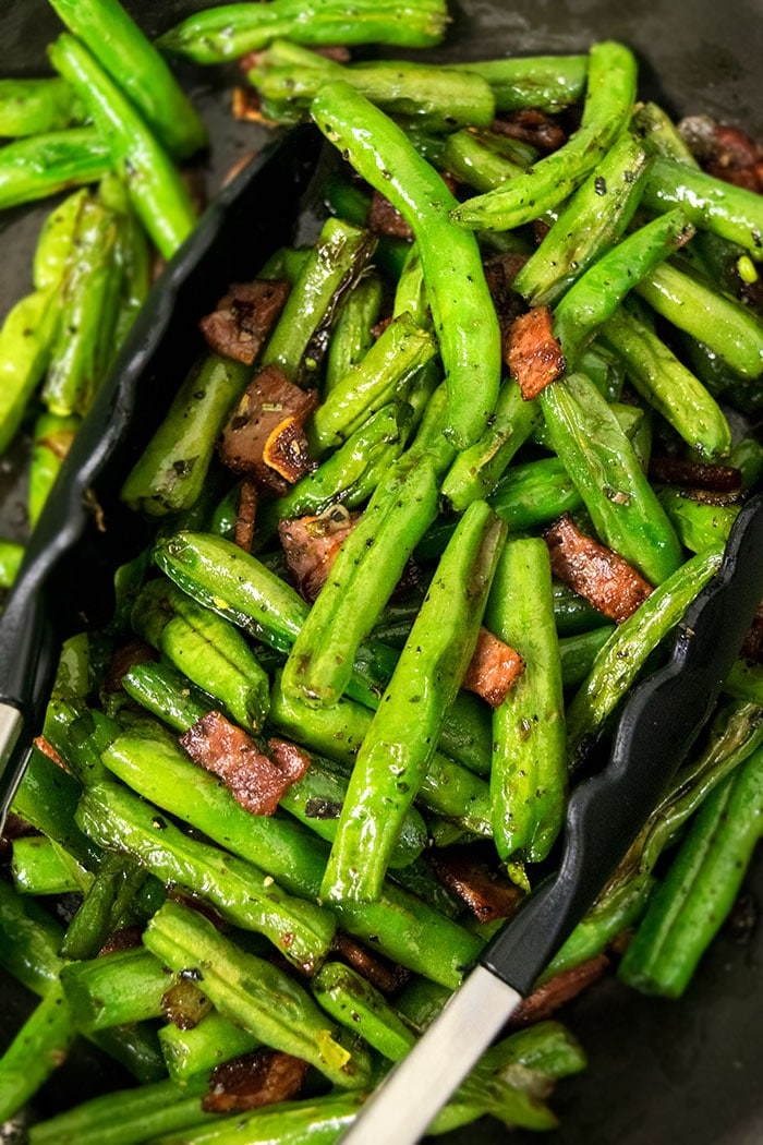 Easy Green Beans With Bacon Recipe