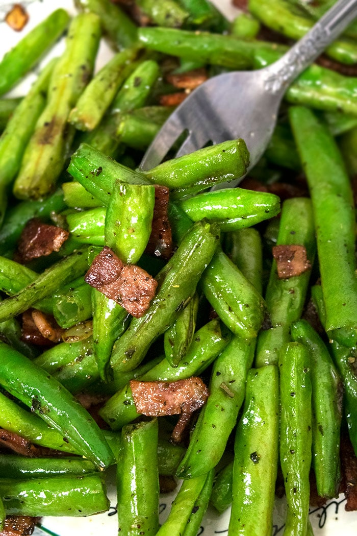 Green Bean Recipes with Bacon and Onions