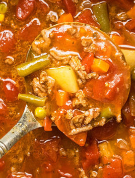 Vegetable Beef Soup One Pot One Pot Recipes