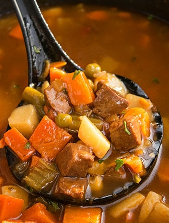 Classic Beef Stew Recipe (One Pot Meal)