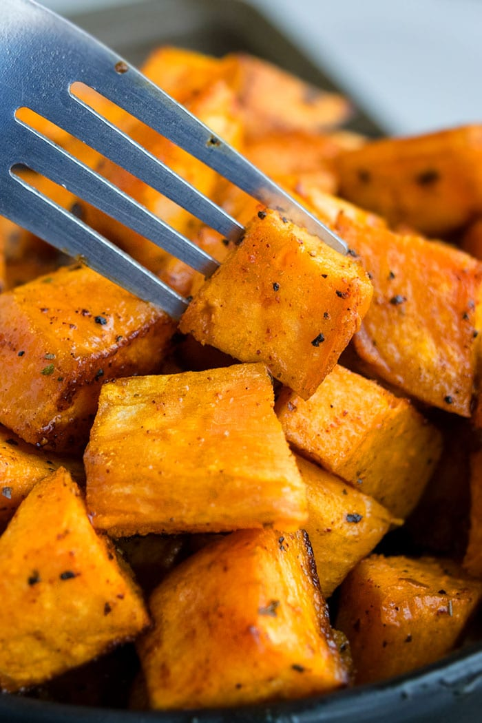Oven Roasted Sweet Potatoes One Pan One Pot Recipes