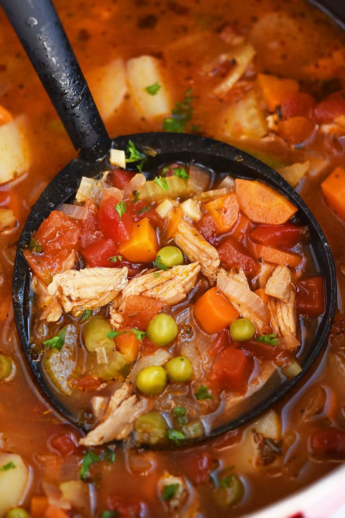 Easy Chicken Vegetable Soup Recipe