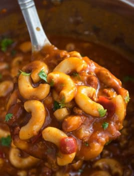 Easy Chili Mac Recipe (One Pot Meal)
