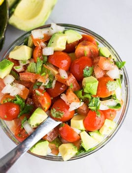 Easy Tomato Avocado Salad Recipe Ready in 20 Minutes)