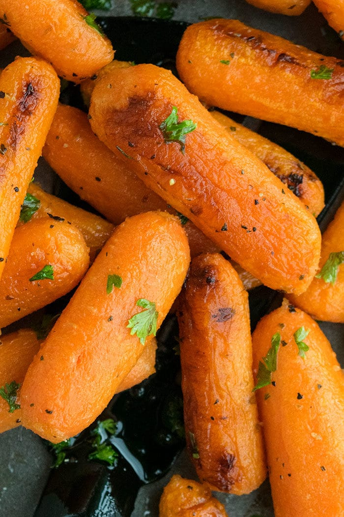 Easy Roasted Carrots Recipe