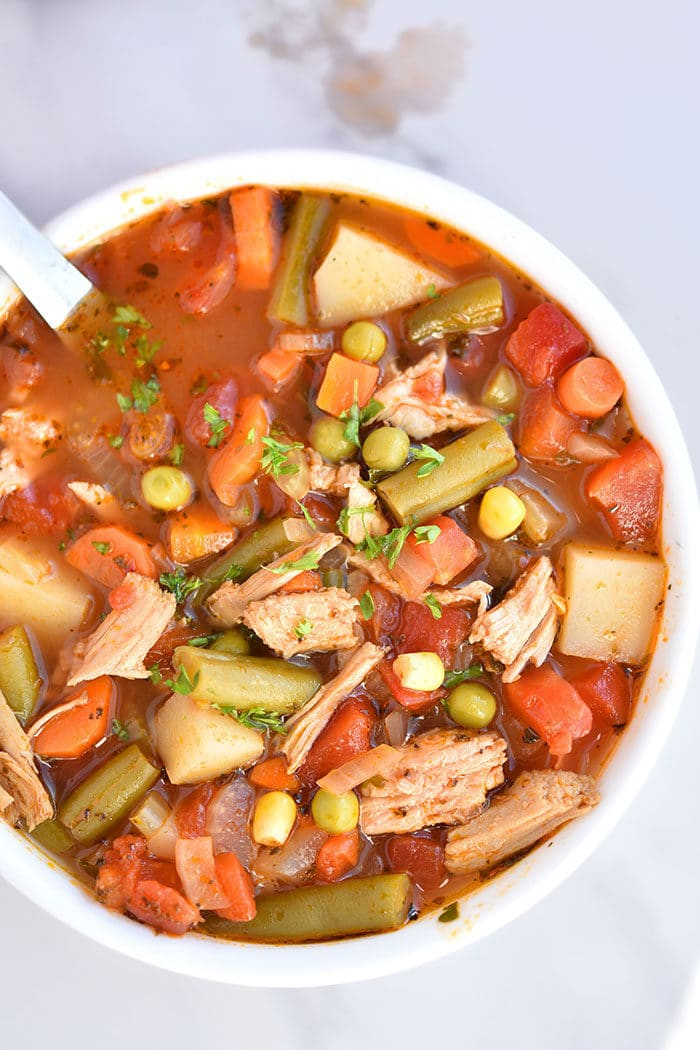 Homemade Chicken and Vegetable Soup Recipe