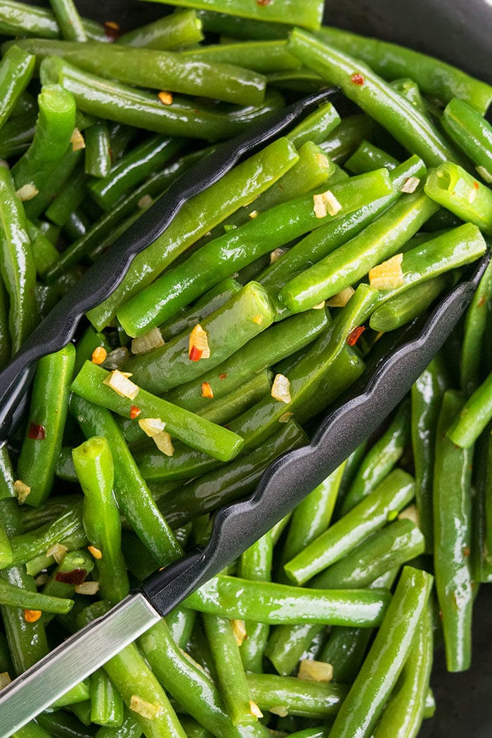 Sauteed Green Beans With Garlic Recipe