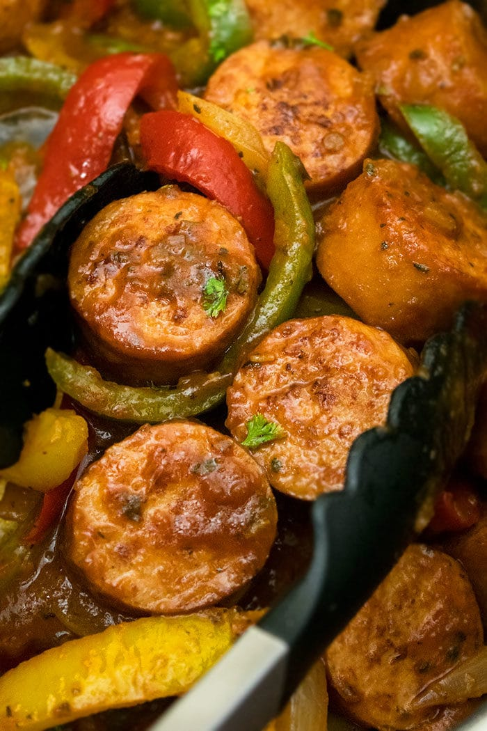 Sausage Peppers and Onions Recipe (30 Minute Meal)