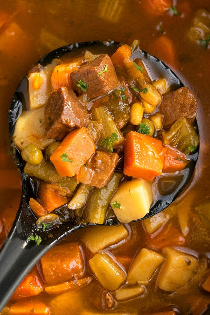 How to Make Beef Stew (One Pot, Stove Top)