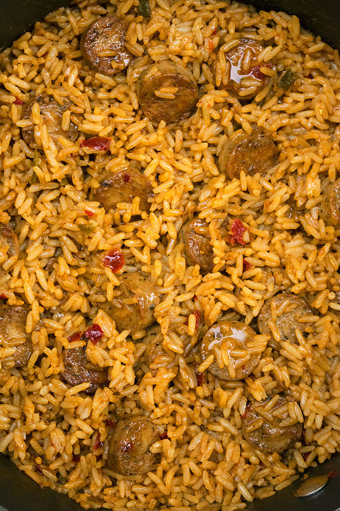 Sausage and Rice Recipe (One Pot Meal)
