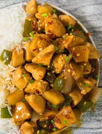 Easy Sweet and Spicy Chicken Recipe