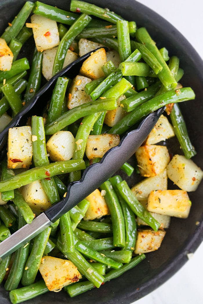 Green Beans and Potatoes (One Pot Meal)