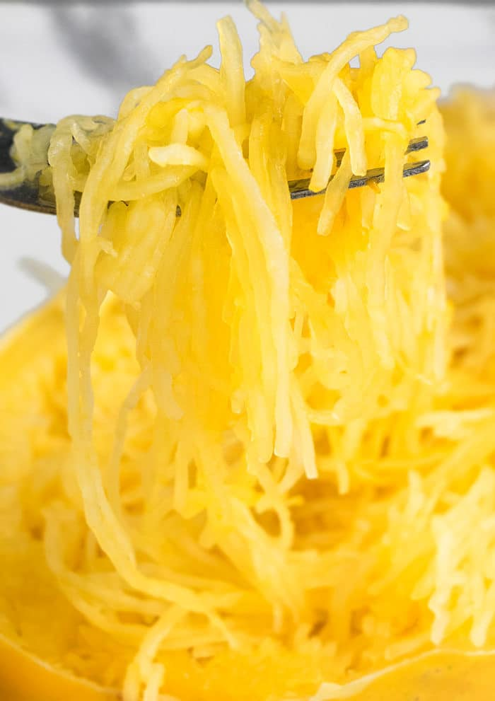 Easy Spaghetti Squash Recipe (Instant Pot)