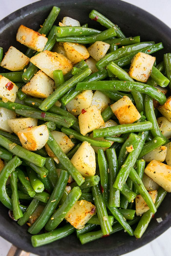 Italian Green Beans and Potatoes Recipe