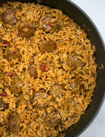Easy Sausage and Rice Recipe