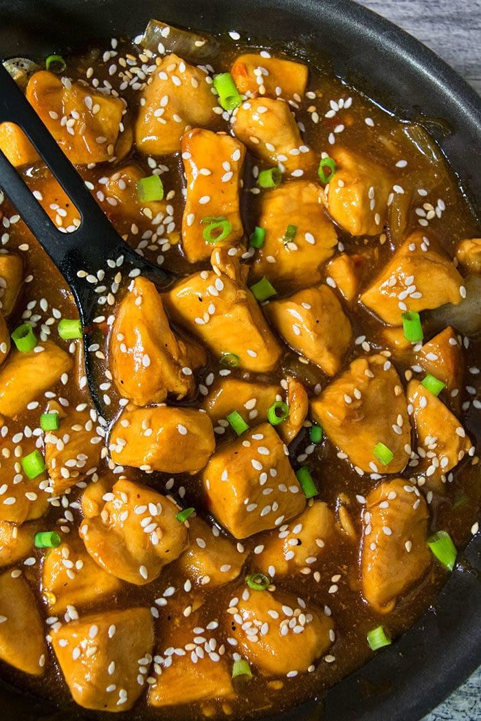 Easy Chinese Honey Sesame Chicken Recipe