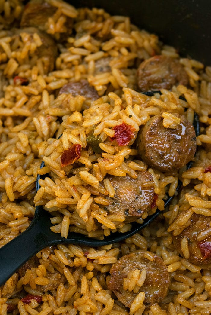 Cajun Sausage and Rice Recipes