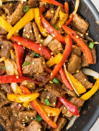 Best Pepper Steak Recipe (One Pot Meal)