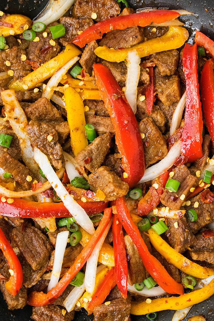 How to Make Pepper Steak